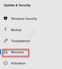 Actualización de configuración y recuperación de seguridad
