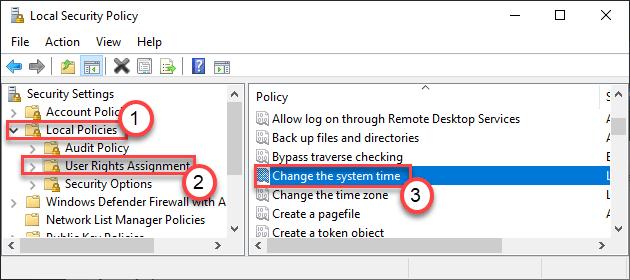 Cambiar el tiempo del sistema Dc Min