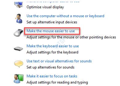 Explore todas las configuraciones Haga que el mouse sea más fácil de usar