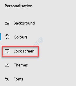 Configuración Personalización Pantalla de bloqueo