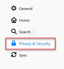 Privacidad y seguridad de Firefox