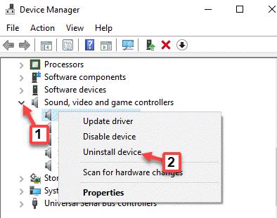 Administrador de dispositivos Controladores de sonido, video y juegos Conexant Smartaudio Haga clic con el botón derecho en Desinstalar dispositivo