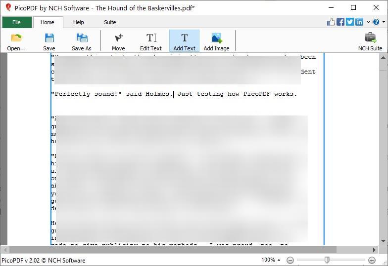 PicoPDF agregar texto