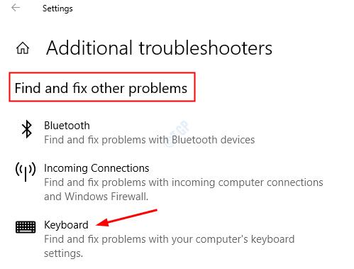 Solucionar problemas del teclado