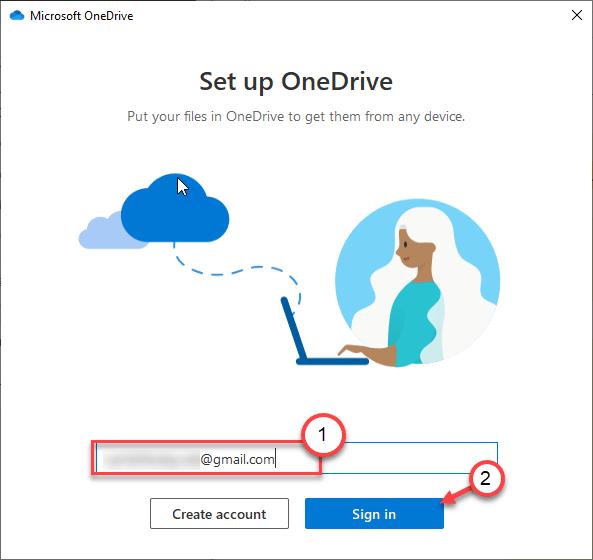 Mínimo de inicio de sesión de Gmail