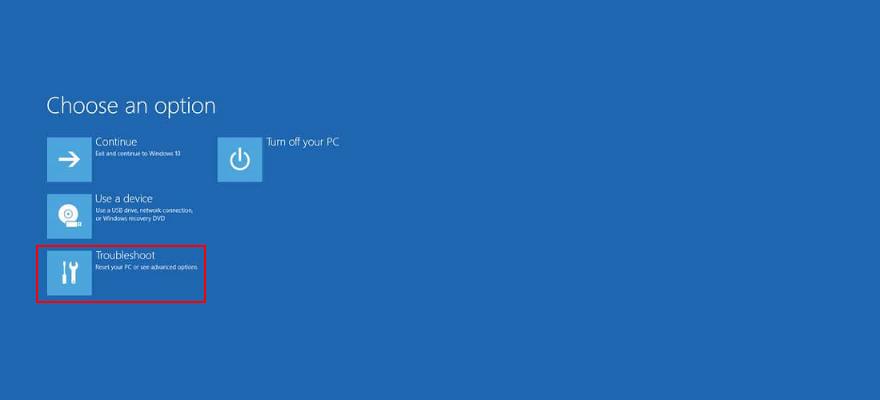 Windows 10 muestra cómo utilizar la solución de problemas desde el modo de inicio avanzado