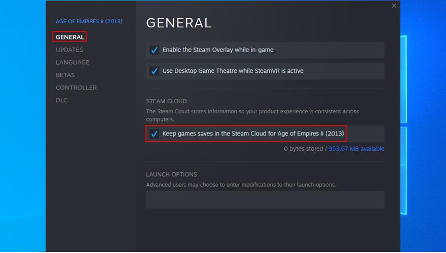 cómo mantener juegos guardados en Steam Cloud
