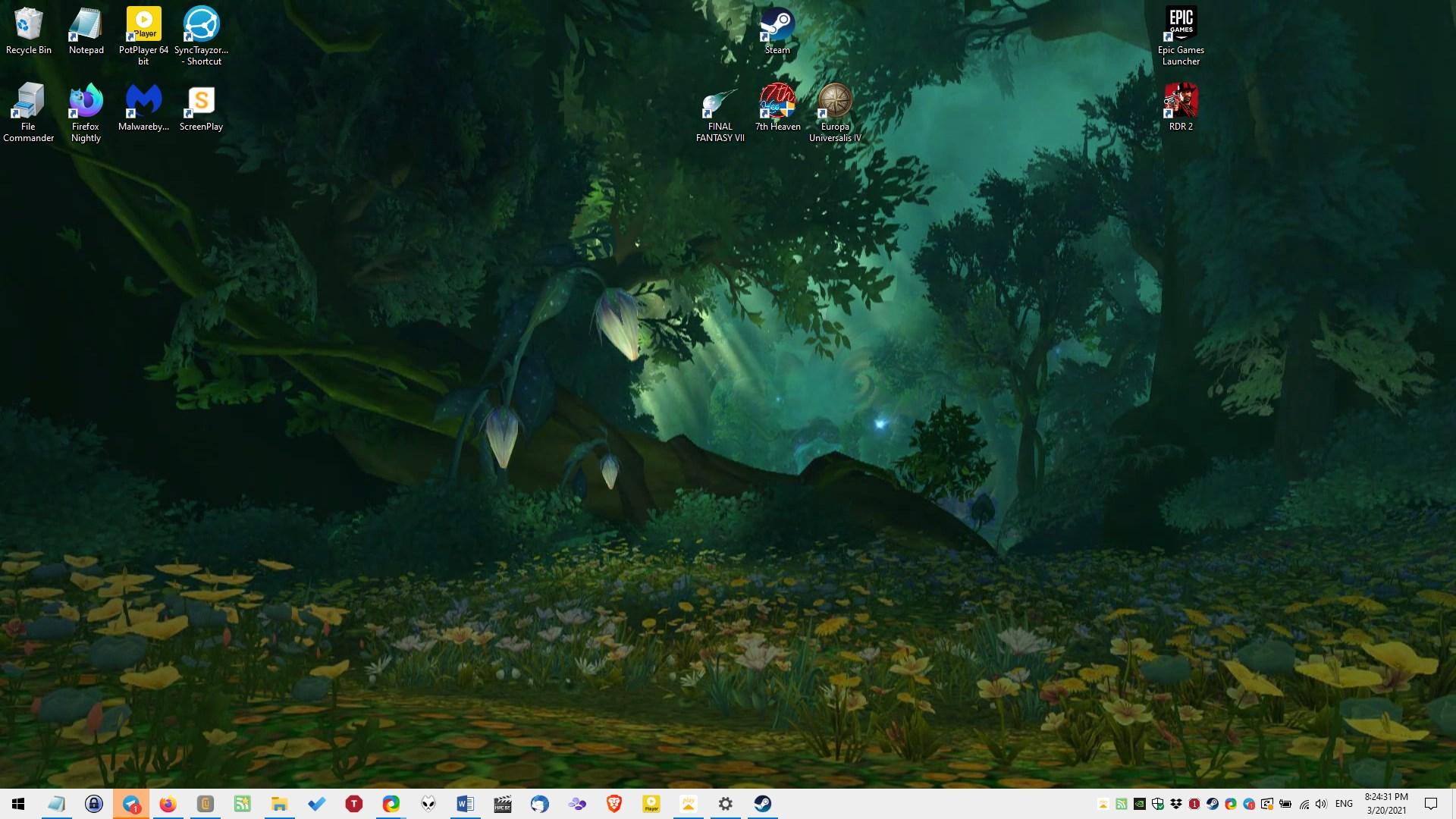 ScreenPlay escritorio fondo de pantalla