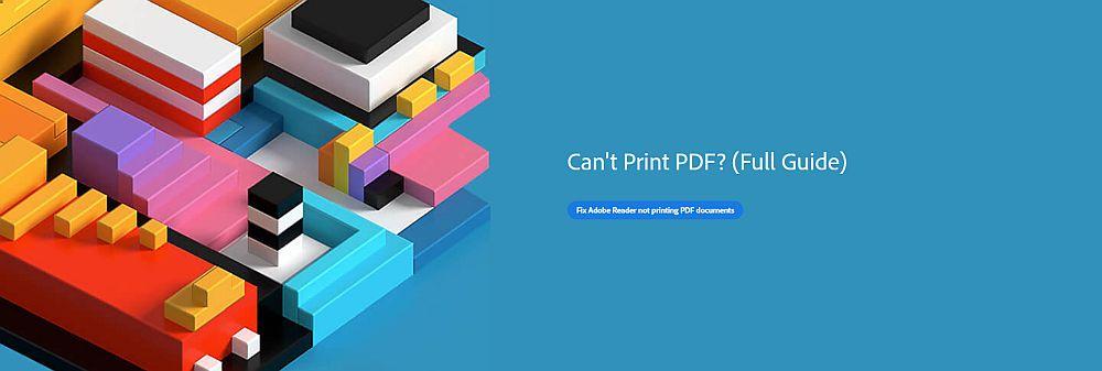 No puedo imprimir PDF