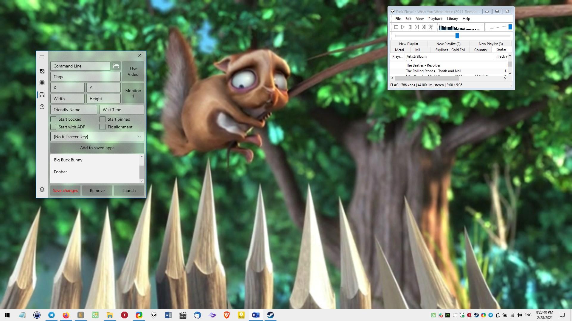Active Desktop Plus es un programa de código abierto que le permite anclar otros programas al escritorio y usar fondos de pantalla de video