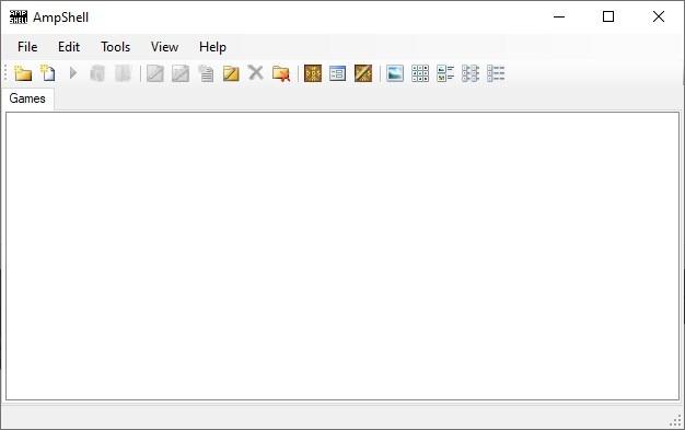 AmpShell es un front-end de código abierto para DOSBox