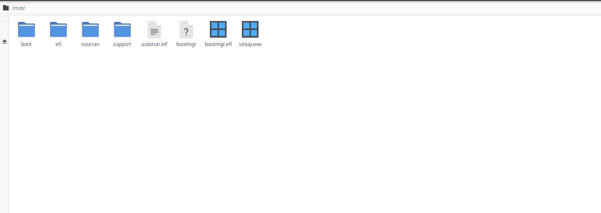 USB de arranque de Windows 10 en Linux