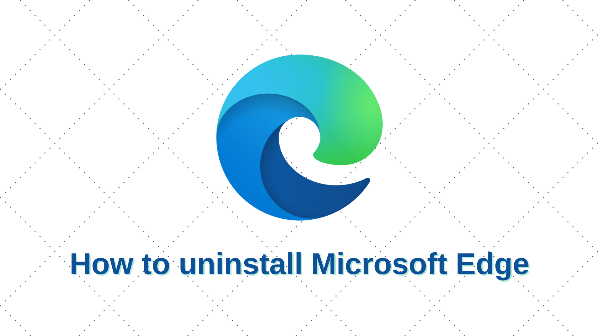 Cómo desinstalar Microsoft Edge