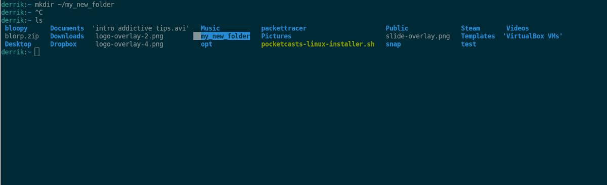 bash para crear directorios