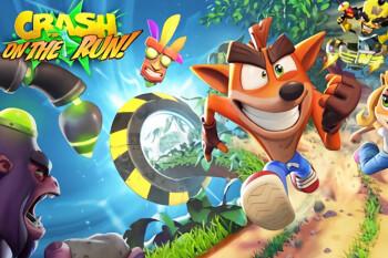 Crash Bandicoot: On The Run llegará a Android e iOS en marzo