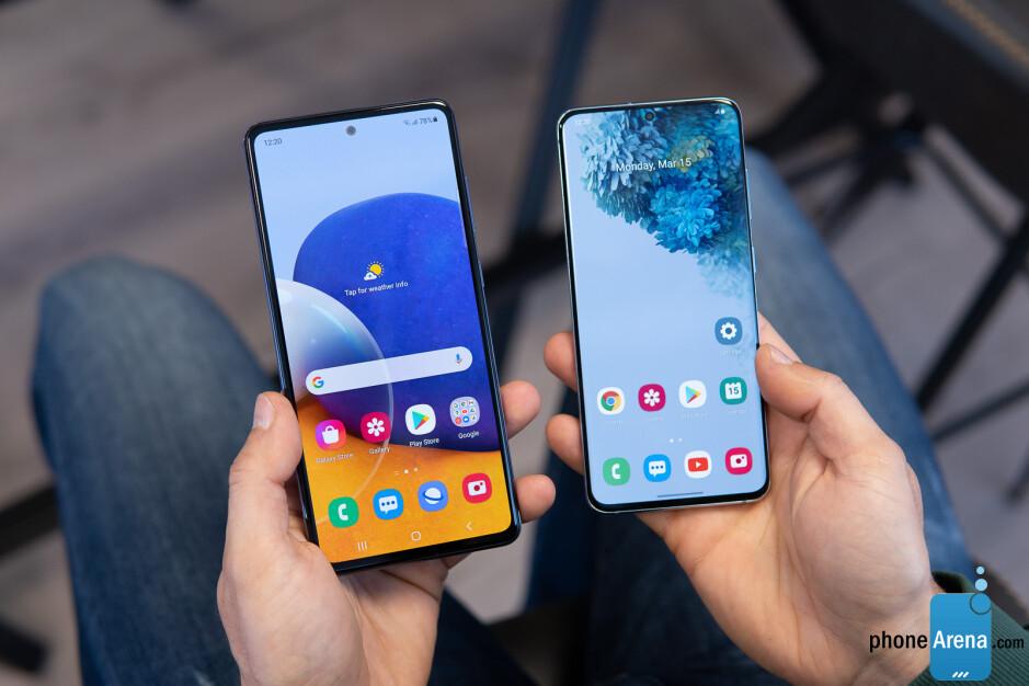 Galaxy A72 vs Galaxy S20 - Samsung Galaxy A72 5G vs Galaxy S20 5G: vista previa y expectativas