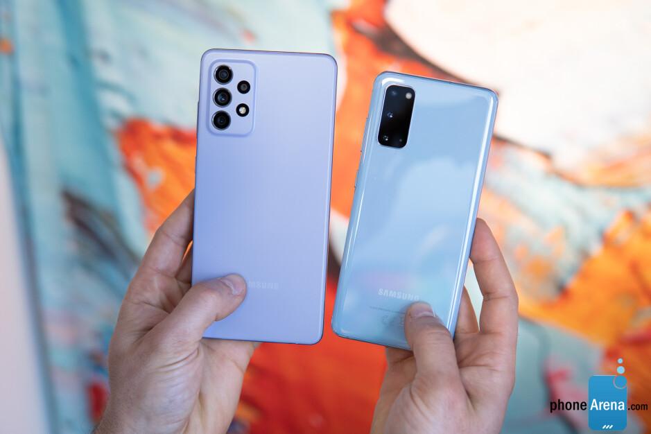 Samsung Galaxy A72 5G vs Galaxy S20 5G: vista previa y expectativas