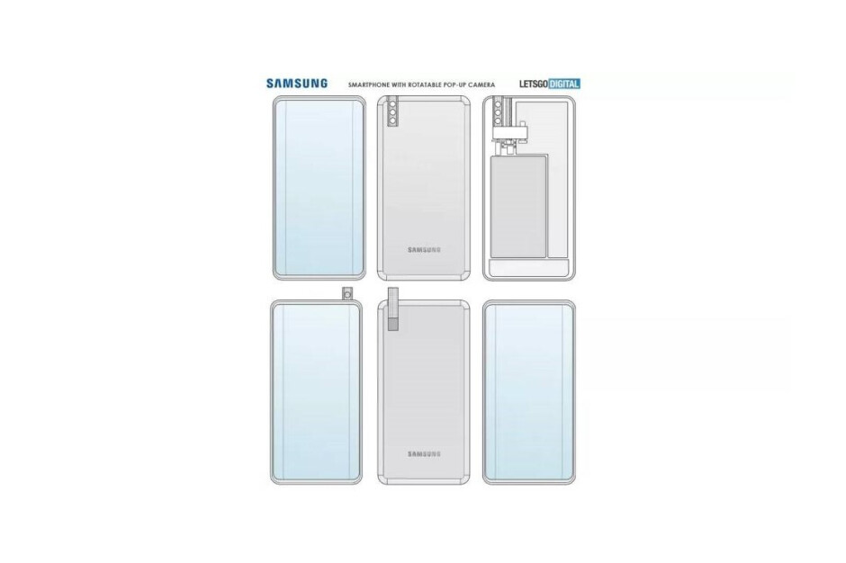El nuevo y peculiar teléfono de Samsung aparentemente tendrá un chip de gama alta de tres generaciones