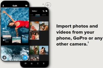 La aplicación GoPro cambia de nombre a Quik y contiene potentes herramientas de edición para usuarios de iOS y Android.