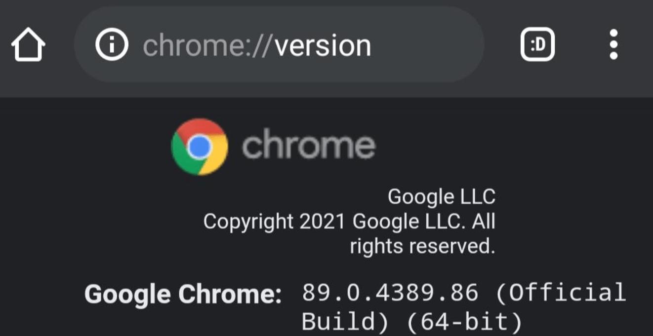 cromo de 64 bits