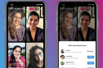 Instagram presenta Live Rooms, permite que hasta cuatro personas se activen