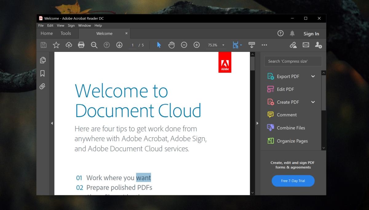 Adobe Reader no imprime documentos PDF