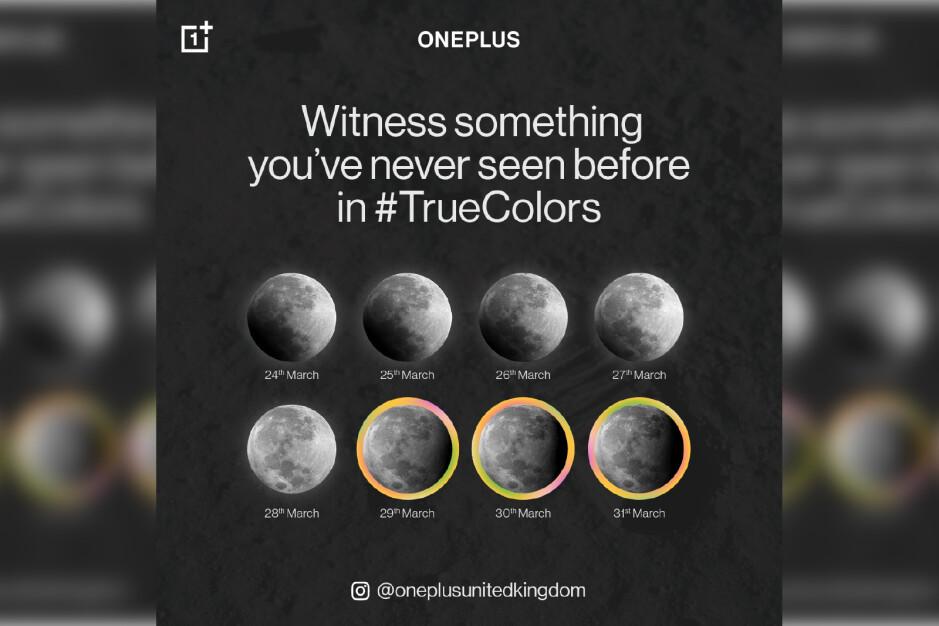 Las cámaras Hasselblad del OnePlus 9 se utilizarán para capturar un fenómeno natural