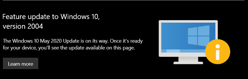Windows 10 puede actualizarse