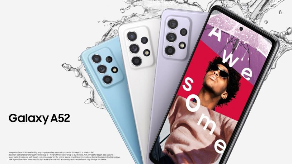 Estos son los precios de pedidos anticipados de los Samsung Galaxy A52, A72 y A32 en EE. UU.