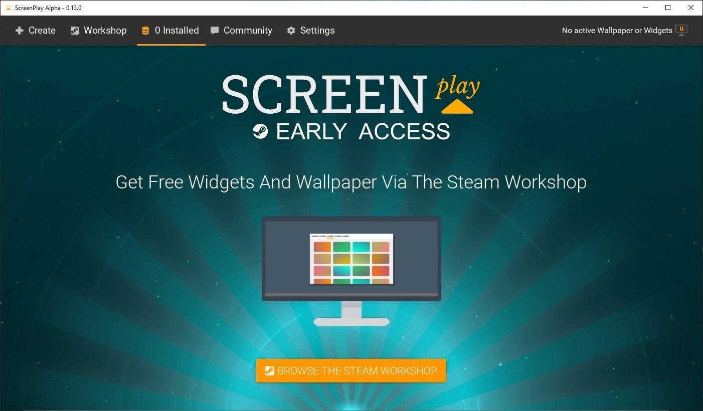 ScreenPlay es un programa de próxima aparición que te permite configurar videos como fondo de escritorio