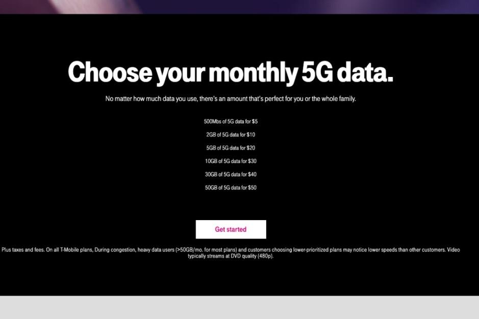 Esta es la estructura recientemente revisada de los planes de datos de punto de acceso 5G de T-Mobile: uno de los mejores planes 5G de T-Mobile ha sido degradado y (algunos) clientes están furiosos