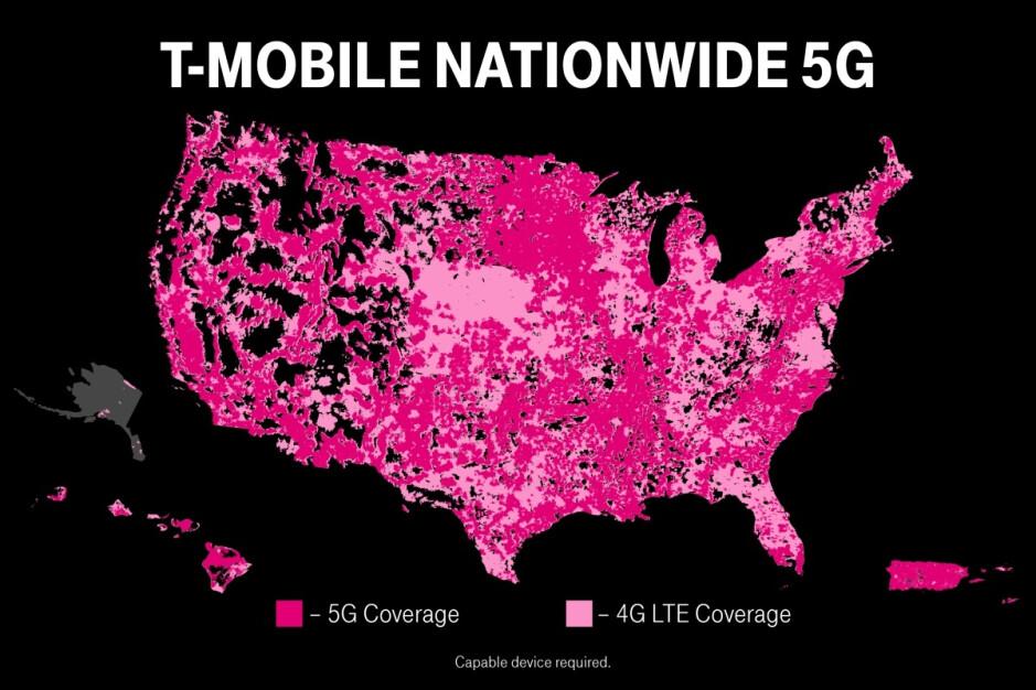 T-Mobile hace silenciosamente otro hito 5G oficial