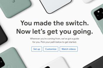 La transferencia de datos a su nuevo Pixel lo calmará y relajará, dice Google (VIDEO)