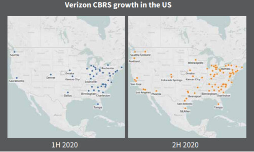 Expansión de la red CBRS de Verizon: cómo la red 4G de Verizon resultó más rápida que las 5G