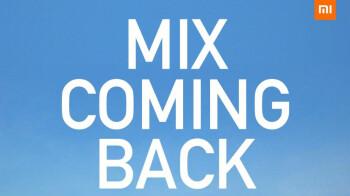 La línea Mi Mix de Xiaomi regresará el 29 de marzo con una cámara de lente líquida