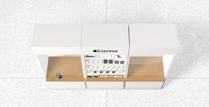 Algunas Apple Stores de EE. UU. Recurrieron a un formato Express: las 270 Apple Stores de EE. UU. Ya están abiertas