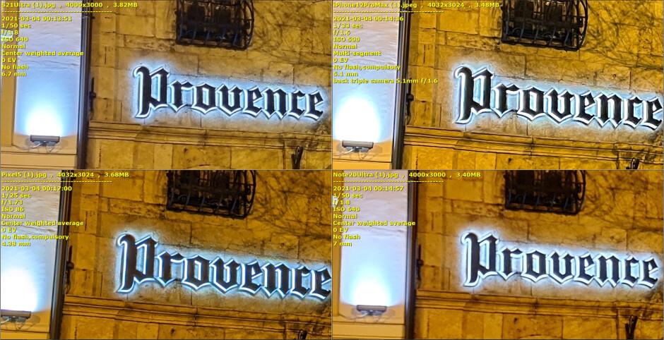 Galaxy S21 Ultra vs iPhone 12 Pro Max, Pixel 5, Note 20 Comparación de cámara con poca luz