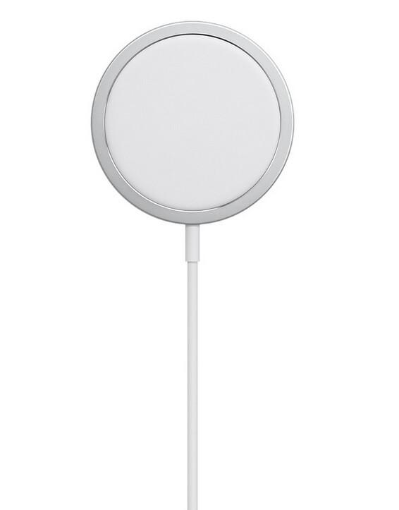 Cargador MagSafe de Apple;  Se rumorea que vendrá un paquete de baterías MagSafe - 5G Apple iPhone 12 podría tener un paquete de baterías MagSafe con carga inalámbrica inversa