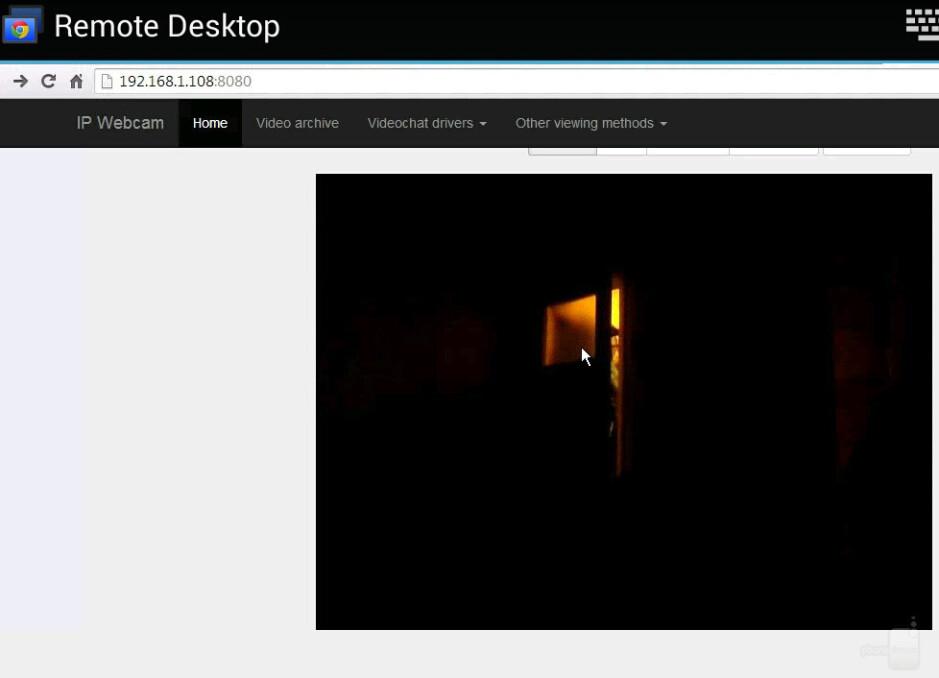 Cámara web IP a través de Chrome Remote Desktop: cómo usar un teléfono Android como cámara de seguridad o monitor para bebés