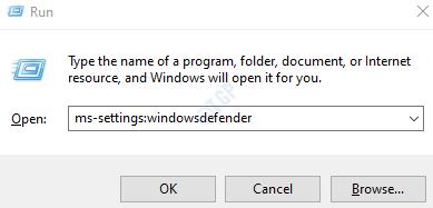 Firewall defensor de Windows
