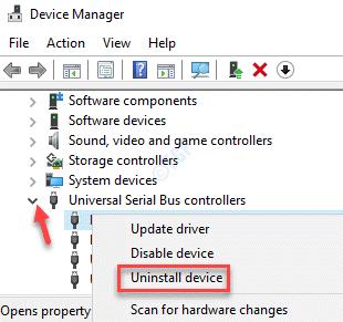 Administrador de dispositivos Controladores de bus serie universal Asmedia Usb 3.0 Controlador de host extensible Dispositivo de desinstalación