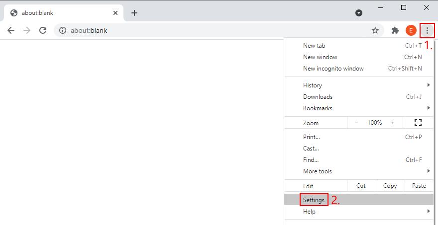 Google Chrome muestra cómo acceder al menú de configuración