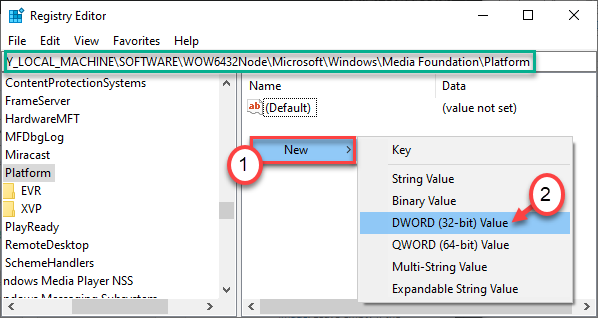 New Dword In 64 Bit
