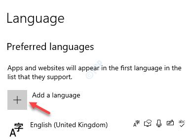 Configuración Hora e idioma Idioma Idiomas preferidos Agregar un idioma