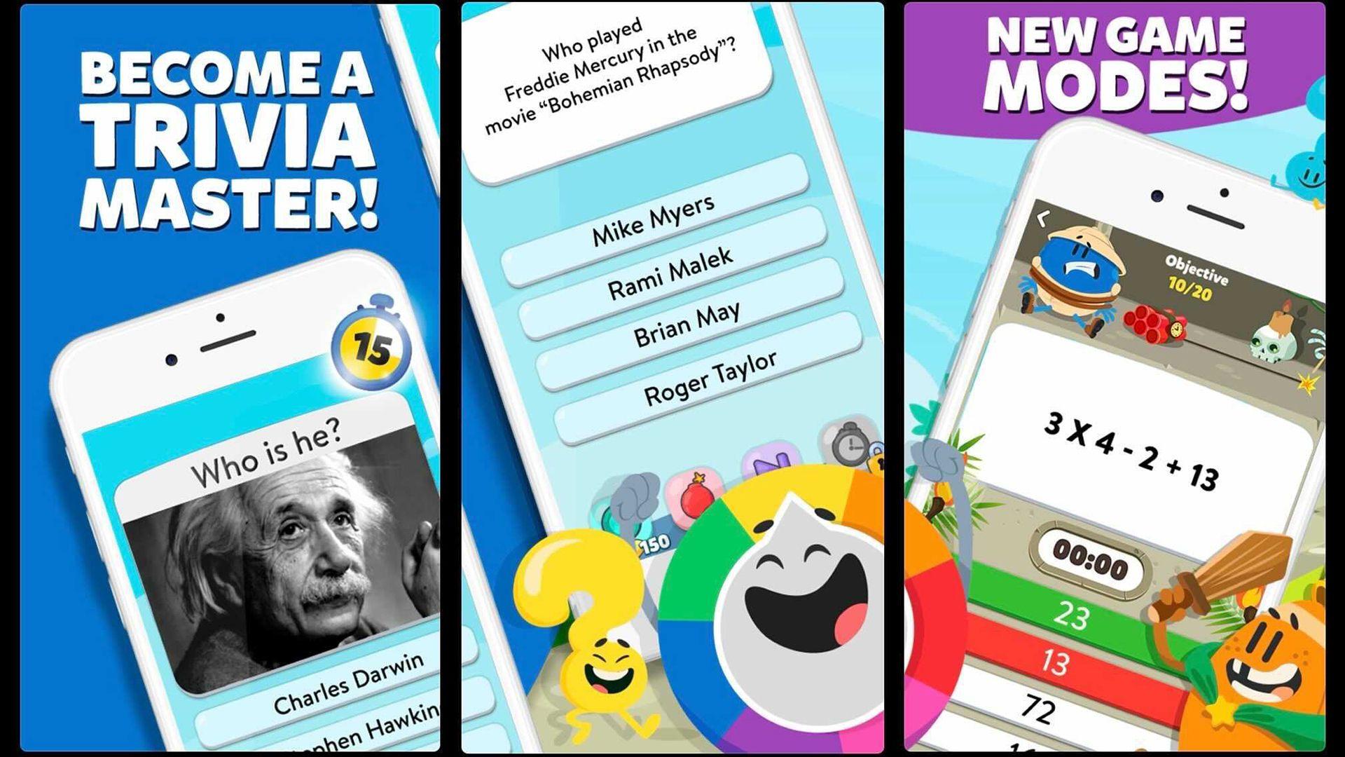 Trivia Crack 2 tiene más opciones de juego basadas en cuestionarios para cuando estás aburrido de la versión clásica.