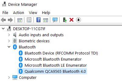 Nombre del dispositivo Bluetooth Mín.
