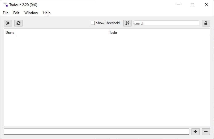 Administre sus tareas de manera eficiente con Todour, un cliente multiplataforma de código abierto para Todo.Txt