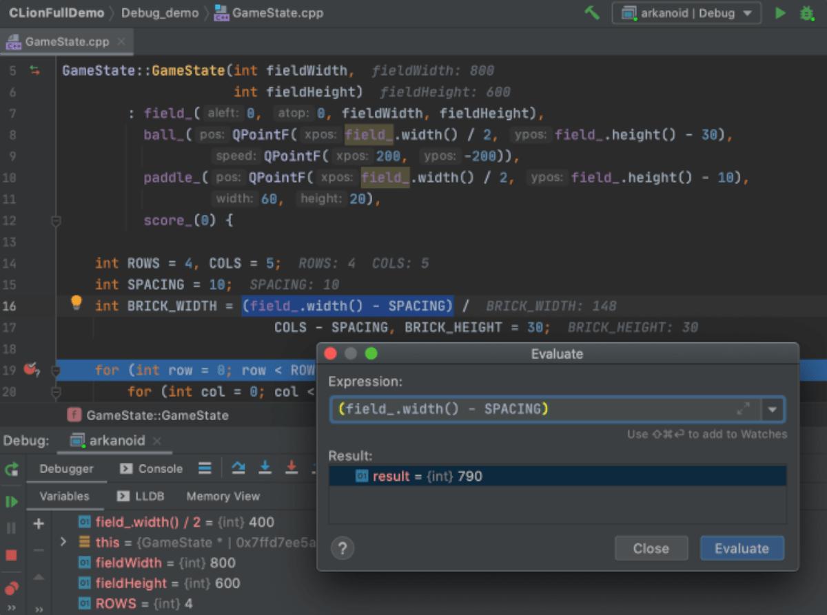 JetBrains CLion en Linux