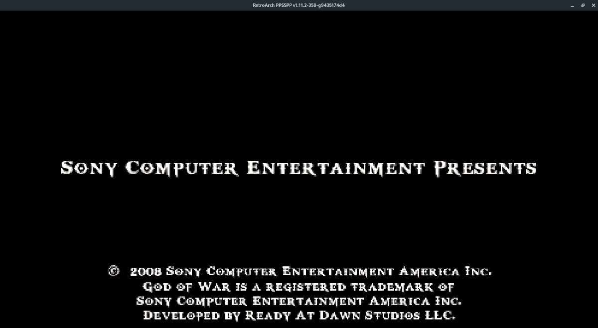 Juegos de Sony PSP Retro Arch Linux