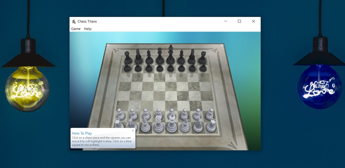 Chess Titans en Windows 10